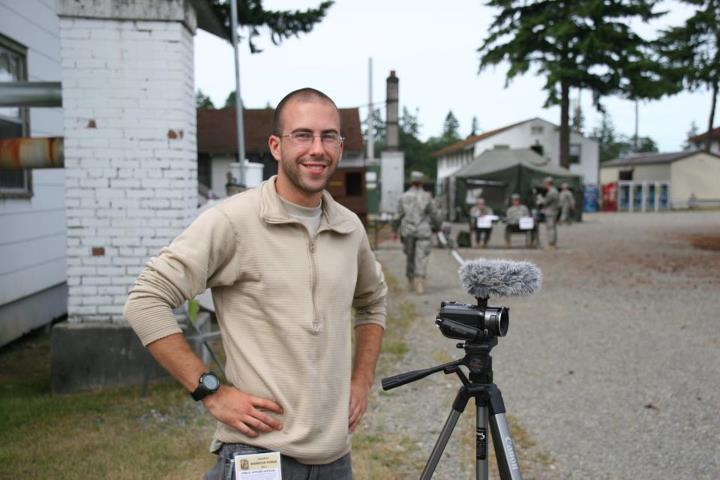 2LT Evan Cain, videographer